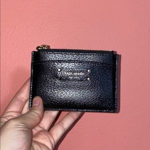Kate Spade card case with zipper